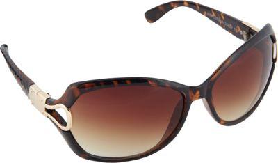 SouthPole Eyewear Oversized Glam Sunglasses Tortoise - SouthPole Eyewear Sunglasses