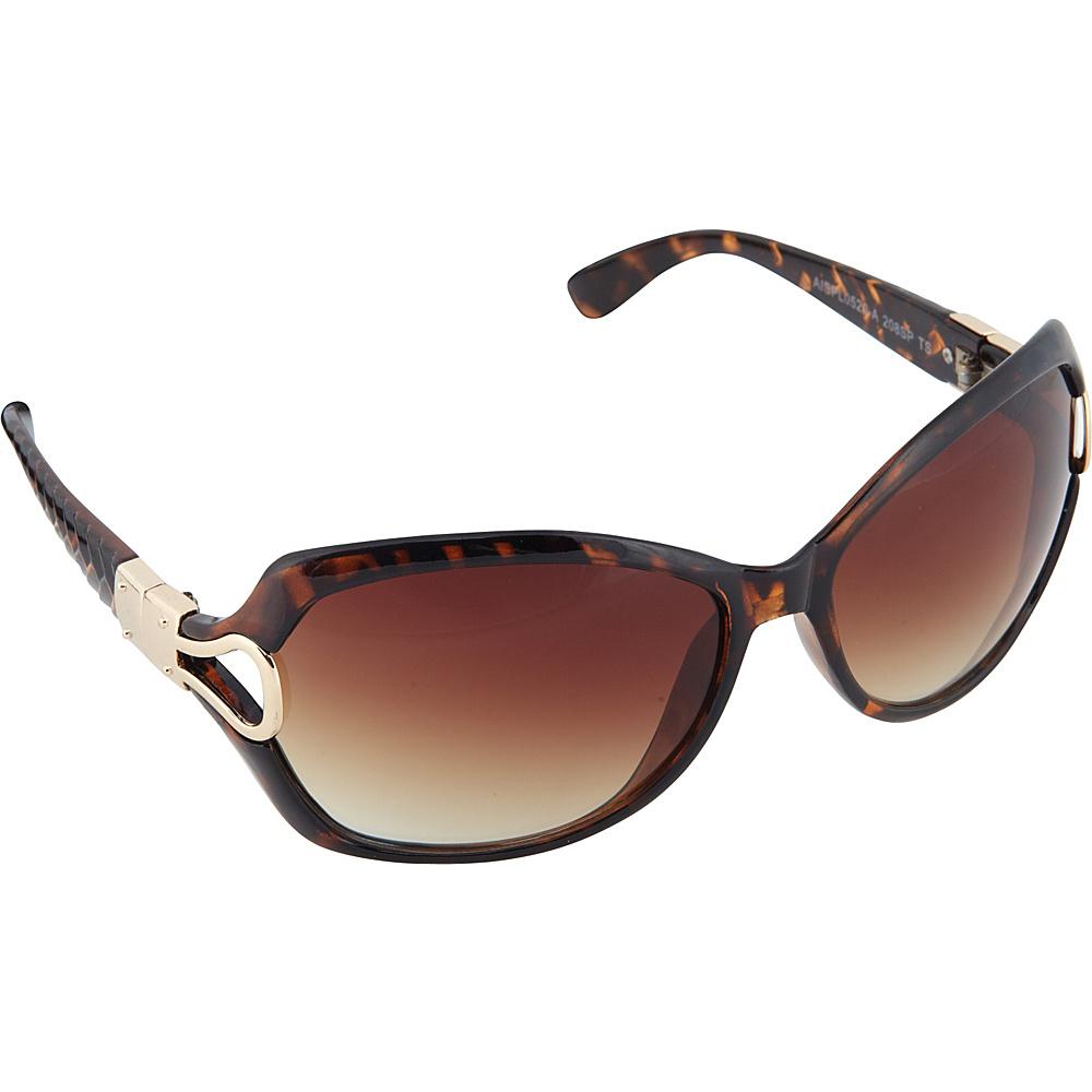 SouthPole Eyewear Oversized Glam Sunglasses Tortoise SouthPole Eyewear Sunglasses