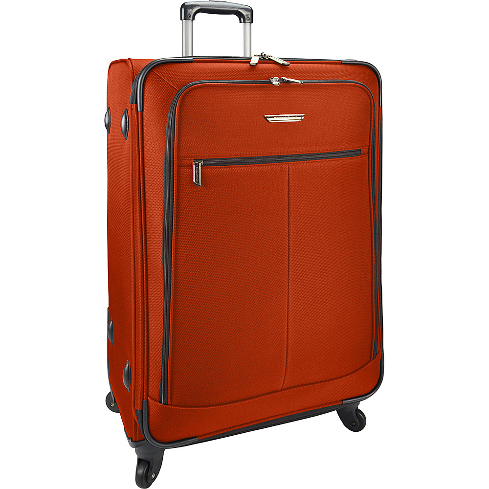 Traveler s Choice Merced Lightweight 31 Spinner Luggage Orange Traveler s Choice Softside Checked