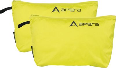 Image of Apera Fit Pocket (2 Pack) Electric Lime - Apera Travel Organizers
