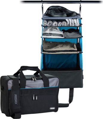 Rise Gear Jumper Travel Bag with Collapsible Shelves Blue - Rise Gear Softside Carry-On