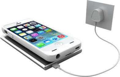 UNU Aero Series iPhone 5/5s Battery Case with Wireless Charging Technology White - UNU Electronic Cases