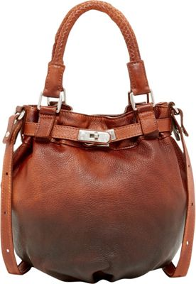 Old Trend Pumpkin Bucket Bag Chestnut-Coffee Ombre - Old Trend Leather Handbags