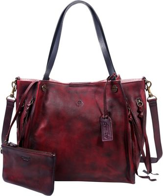Old Trend Daisy Totes Rusty Red - Old Trend Leather Handbags