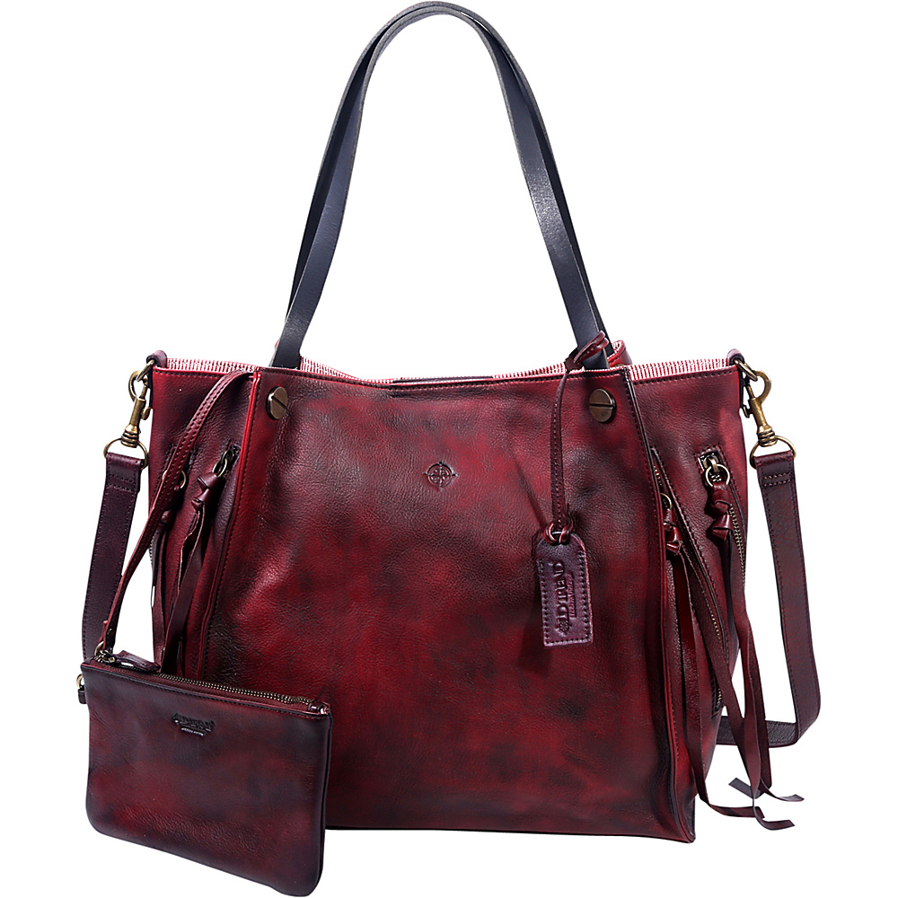 Old Trend Daisy Totes Rusty Red Old Trend Leather Handbags