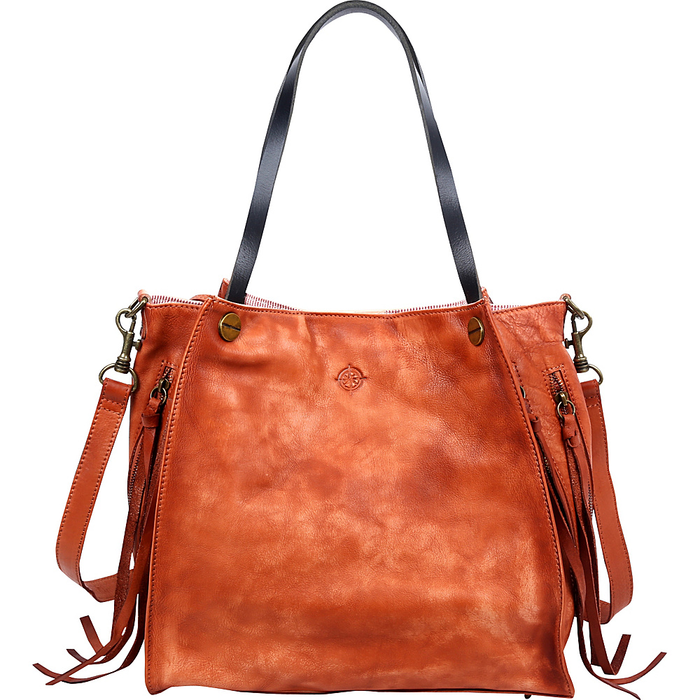 Old Trend Daisy Totes Cognac Old Trend Leather Handbags