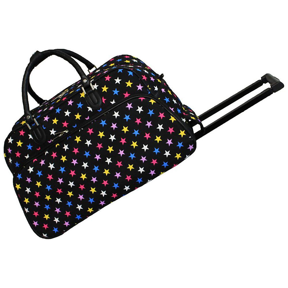 World Traveler Stars 21 Rolling Duffel Bag Multi Stars - World Traveler Rolling Duffels - Luggage, Rolling Duffels