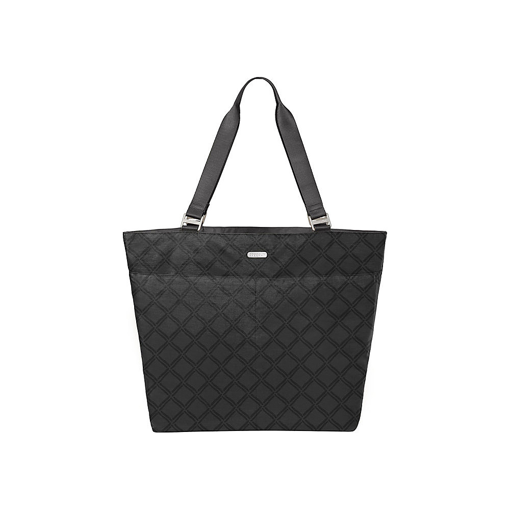 baggallini Carry All Tote Charcoal Link - baggallini Fabric Handbags - Handbags, Fabric Handbags