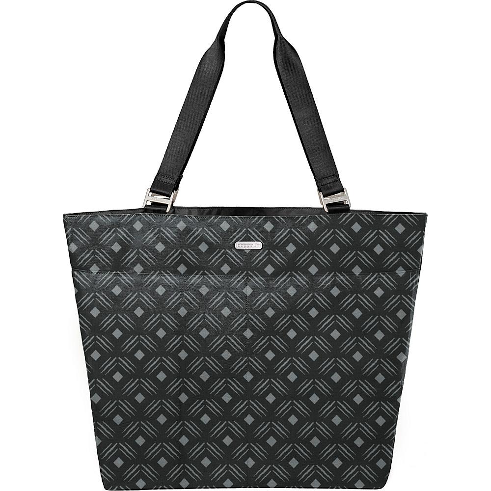 baggallini Carry All Tote Black Diamond Print Multi - baggallini Fabric Handbags - Handbags, Fabric Handbags