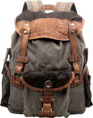 TSD Tapa Backpack Grey - TSD Fabric Handbags