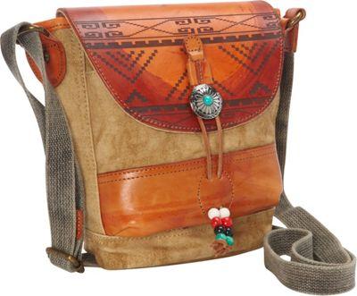 TSD Boho Echo Crossbody Khaki - TSD Fabric Handbags