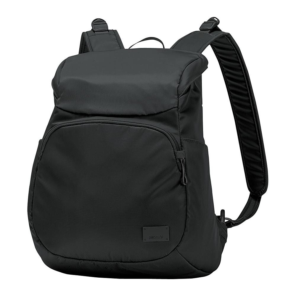 Pacsafe Citysafe CS300 Anti-Theft Compact Backpack Black - Pacsafe Fabric Handbags
