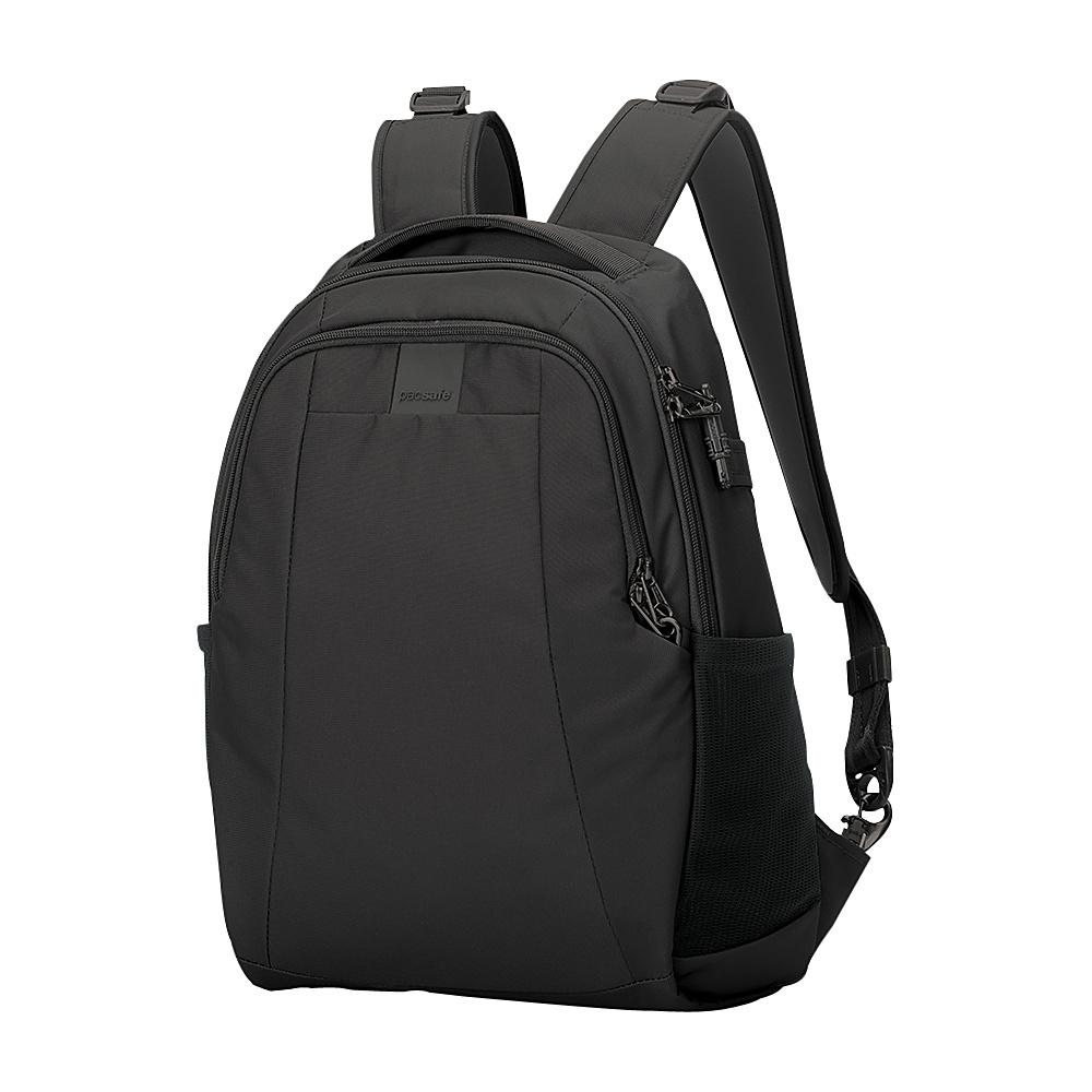 Pacsafe Metrosafe LS350 Anti-Theft 15L Backpack Black - Pacsafe Business & Laptop Backpacks
