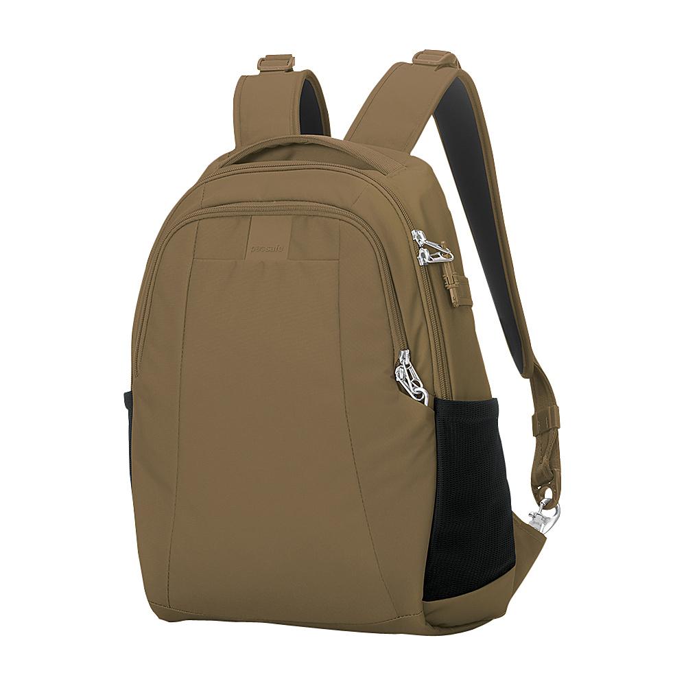 Pacsafe Metrosafe LS350 Anti-Theft 15L Backpack Sandstone - Pacsafe Business & Laptop Backpacks