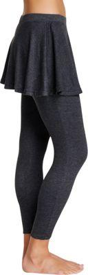 Magid Cotton Flary Skirt Leggings L/XL - Dark Grey - Extra Extra Large - Magid Women's Apparel