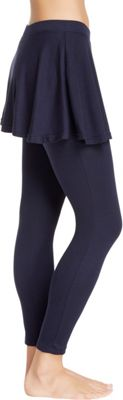 Magid Cotton Flary Skirt Leggings L/XL - Navy - Extra Extra Large - Magid Women's Apparel
