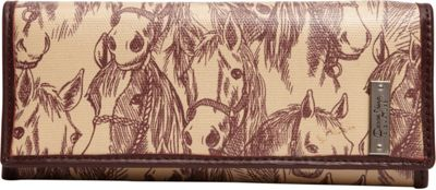 Donna Sharp Medium Wallet - Exclusive Thoroughbred - Donna Sharp Women's Wallets