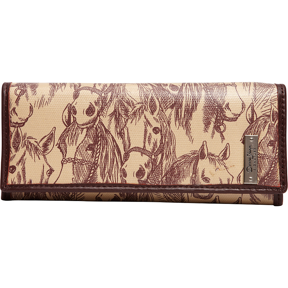 Donna Sharp Medium Wallet Exclusive Thoroughbred Donna Sharp Women s Wallets
