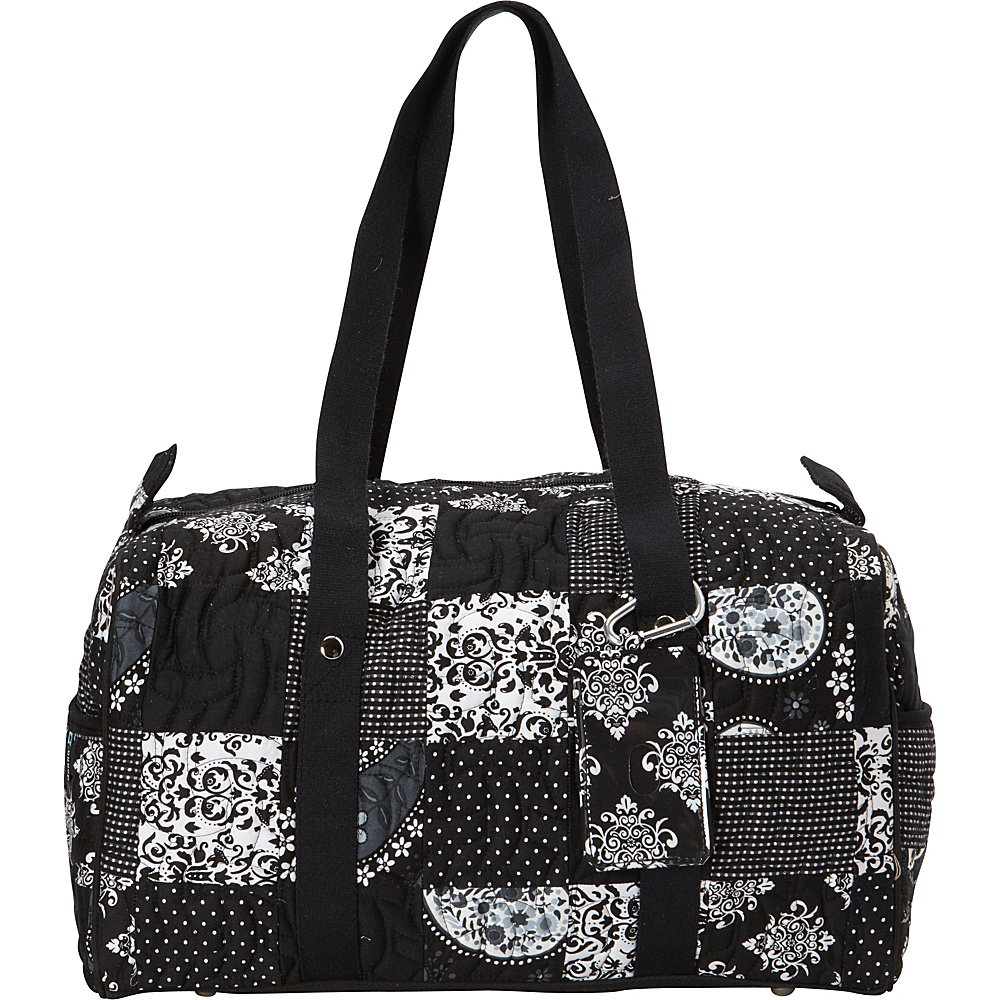 Donna Sharp Small Weekender Duffel Exclusive Emblem Donna Sharp Travel Duffels