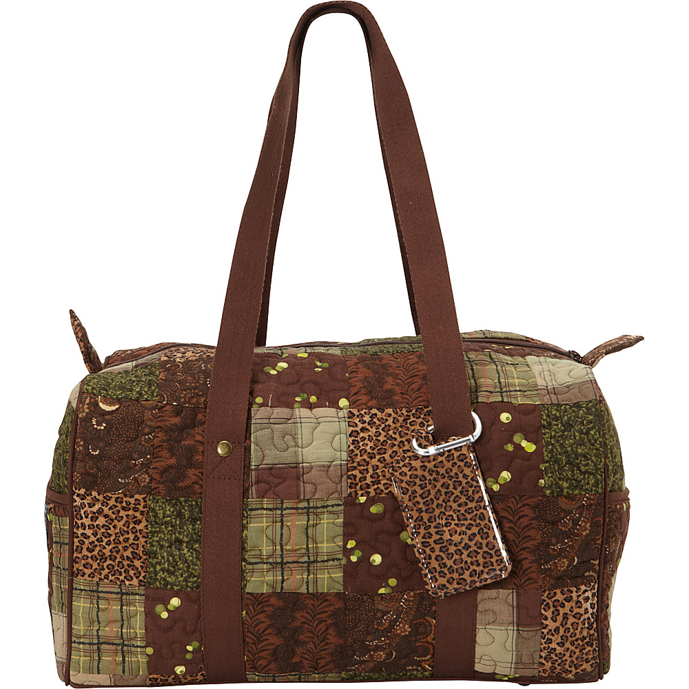 Donna Sharp Small Weekender Duffel Exclusive Safari Donna Sharp Travel Duffels