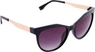 Nanette Nanette Lepore Sunglasses Cat Eye Sunglasses Black/Silver - Nanette Nanette Lepore Sunglasses Sunglasses