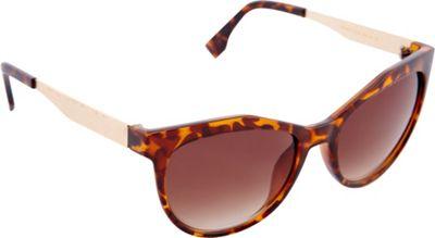 Nanette Nanette Lepore Sunglasses Cat Eye Sunglasses Tortoise/Gold - Nanette Nanette Lepore Sunglasses Sunglasses