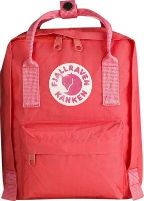 Fjallraven Kanken Mini Backpack Peach Pink - Fjallraven Everyday Backpacks