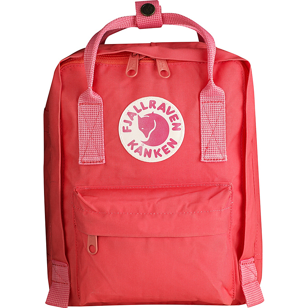 Fjallraven Kanken Mini Backpack Peach Pink - Fjallraven Everyday Backpacks