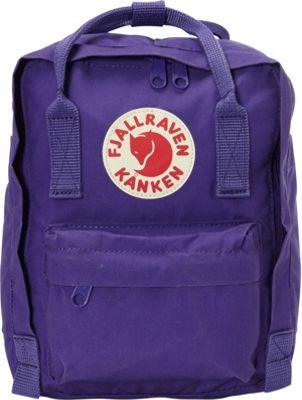 Fjallraven Kanken Mini Backpack Purple - Fjallraven Everyday Backpacks