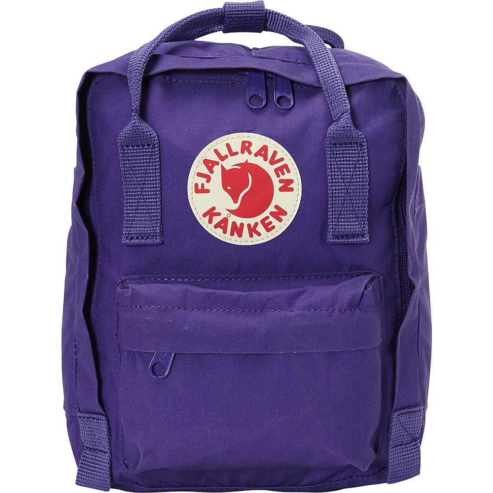 Fjallraven Kanken Mini Backpack Purple - Fjallraven Everyday Backpacks