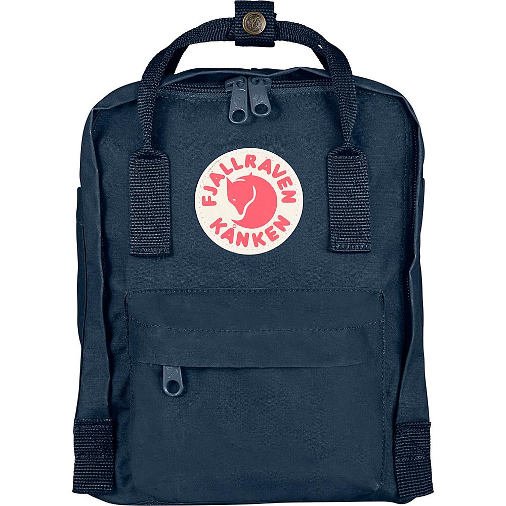 Fjallraven Kanken Mini Backpack Navy - Fjallraven Everyday Backpacks - Backpacks, Everyday Backpacks