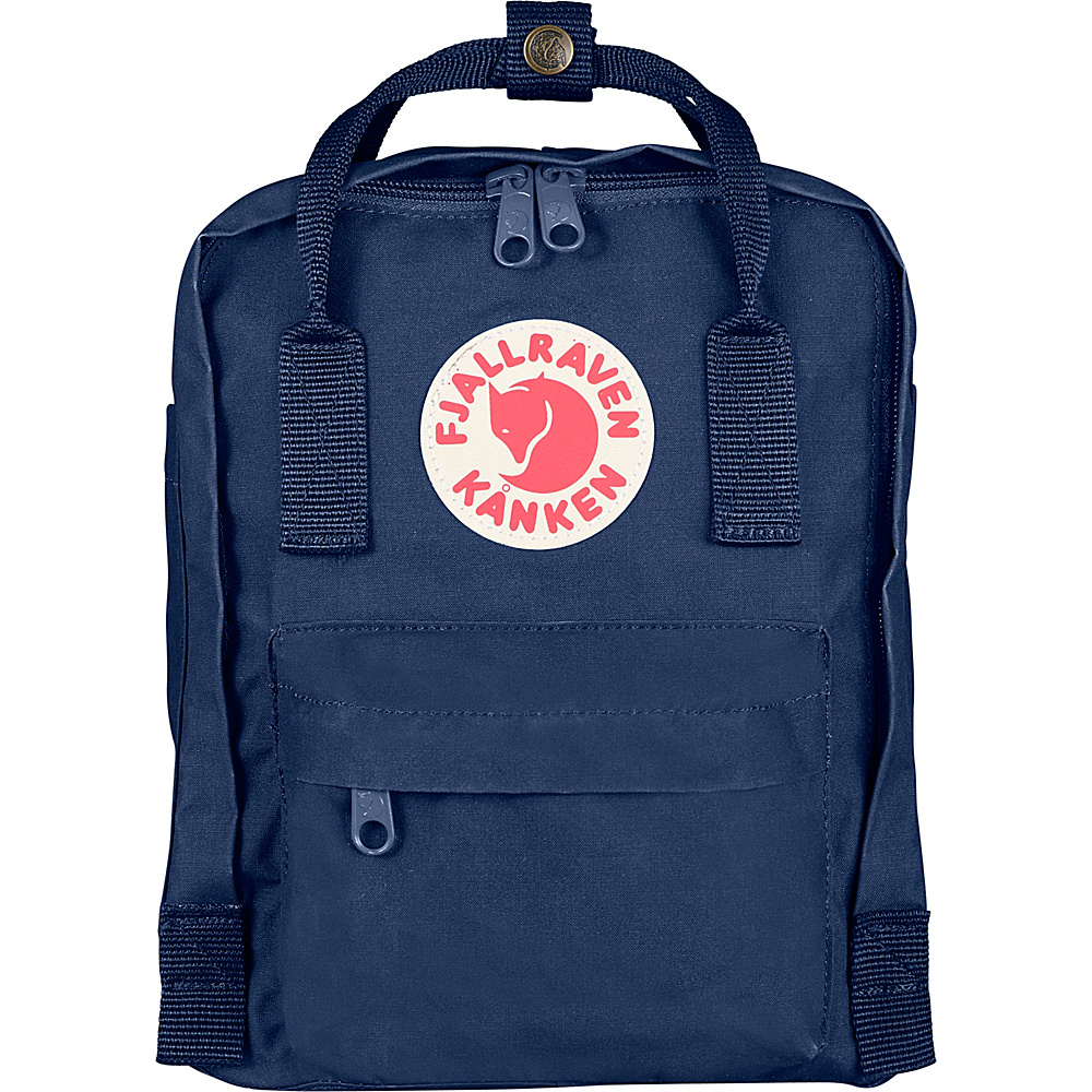 Fjallraven Kanken Mini Backpack Royal Blue - Fjallraven Everyday Backpacks