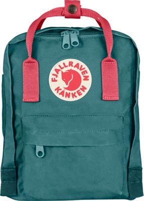 Fjallraven Kanken Mini Backpack Frost Green-Peach Pink - Fjallraven Everyday Backpacks