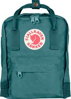 Fjallraven Kanken Mini Backpack Frost Green - Fjallraven Everyday Backpacks
