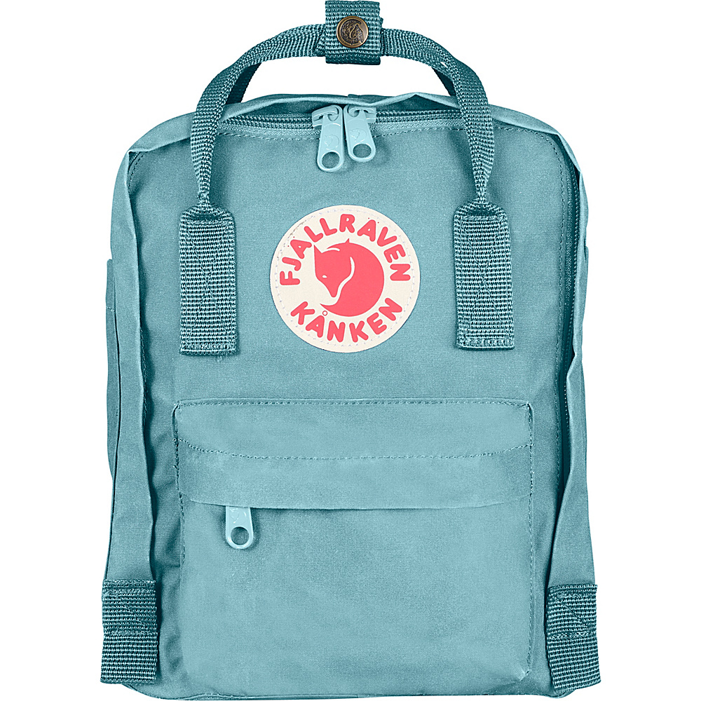 Fjallraven Kanken Mini Backpack Sky Blue - Fjallraven Everyday Backpacks