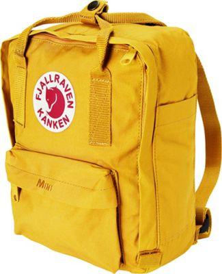 Fjallraven Kanken Mini Backpack Warm Yellow - Fjallraven Everyday Backpacks