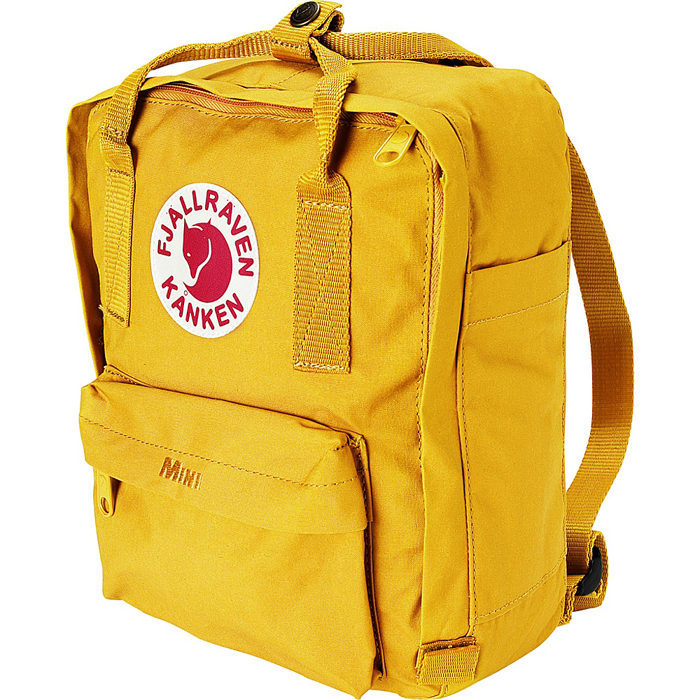 Fjallraven Kanken Mini Backpack Warm Yellow - Fjallraven Everyday Backpacks