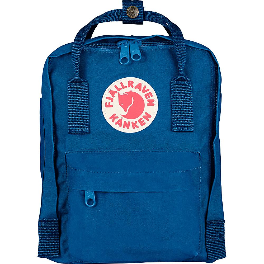 Fjallraven Kanken Mini Backpack Lake Blue Fjallraven Everyday Backpacks