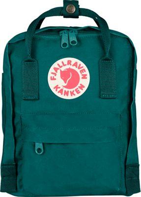 Fjallraven Kanken Mini Backpack Ocean Green - Fjallraven Everyday Backpacks