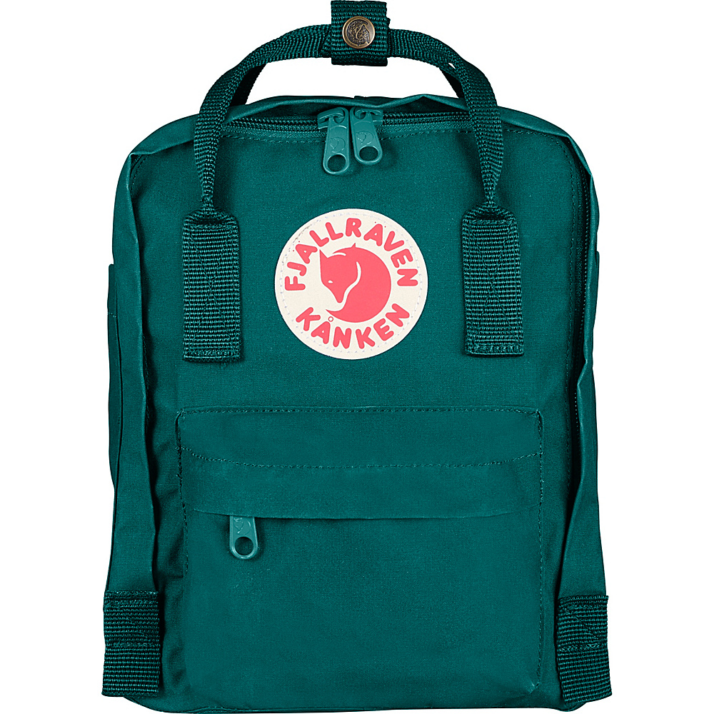 Fjallraven Kanken Mini Backpack Ocean Green - Fjallraven Everyday Backpacks