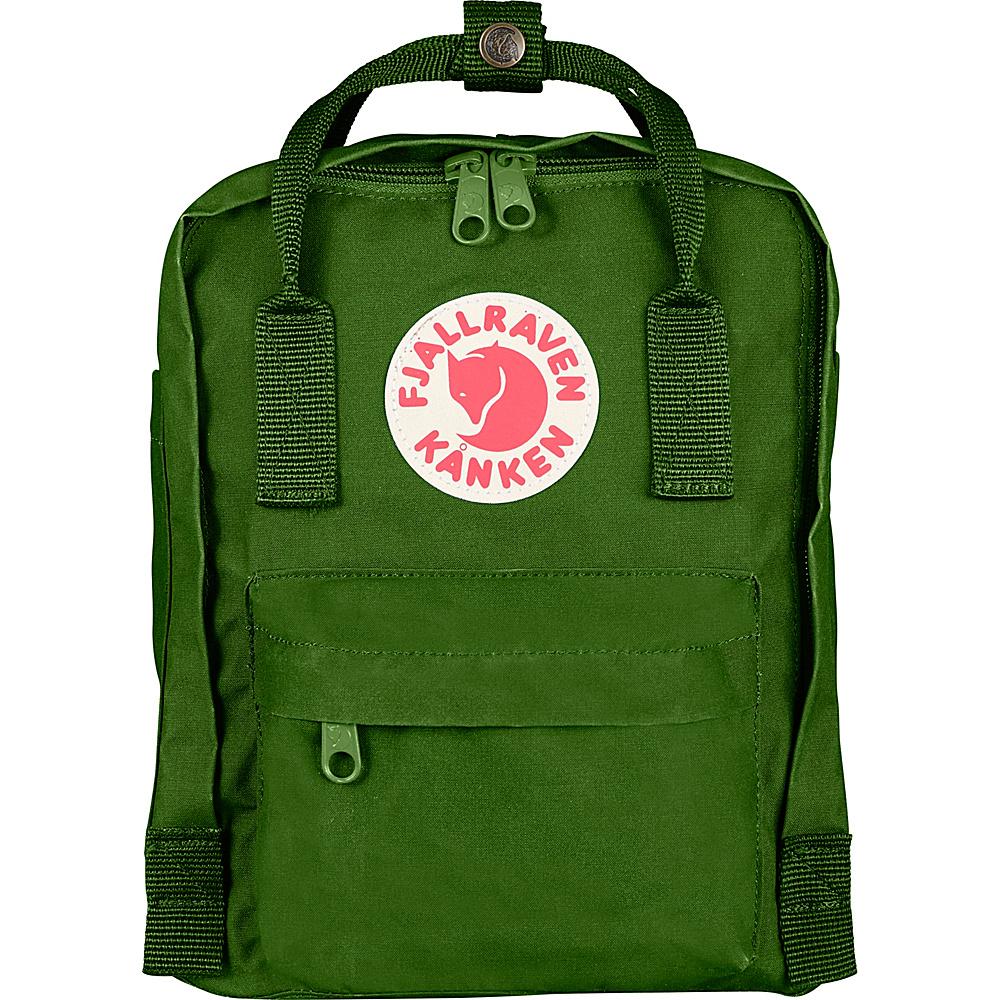 Fjallraven Kanken Mini Backpack Leaf Green - Fjallraven Everyday Backpacks - Backpacks, Everyday Backpacks