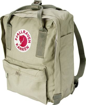 Fjallraven Kanken Mini Backpack Putty - Fjallraven Everyday Backpacks
