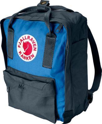 Fjallraven Kanken Mini Backpack Graphite-UN Blue - Fjallraven Everyday Backpacks