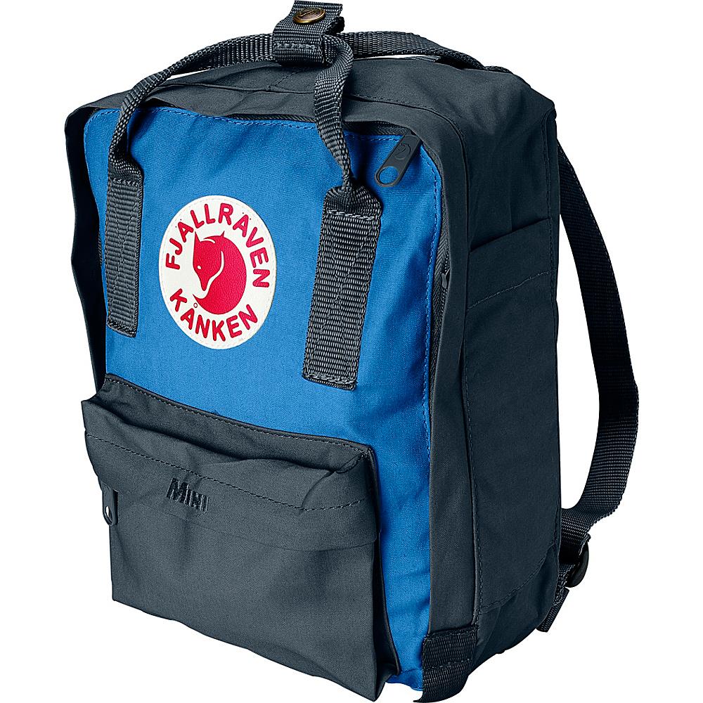 Fjallraven Kanken Mini Backpack Graphite-UN Blue - Fjallraven Everyday Backpacks - Backpacks, Everyday Backpacks