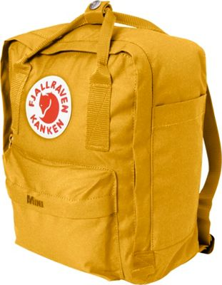 Fjallraven Kanken Mini Backpack Ochre - Fjallraven Everyday Backpacks