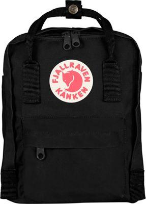 Fjallraven Kanken Mini Backpack Black - Fjallraven Everyday Backpacks
