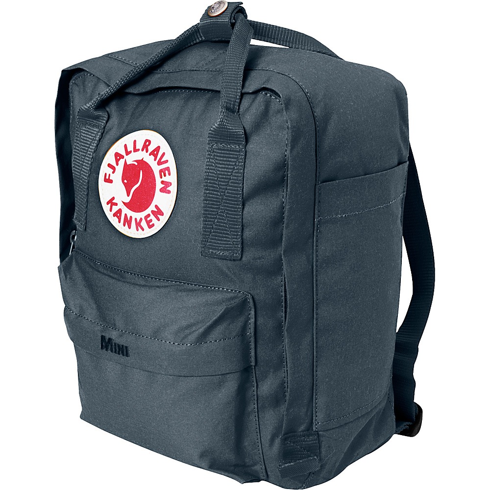 Fjallraven Kanken Mini Backpack Graphite - Fjallraven Everyday Backpacks