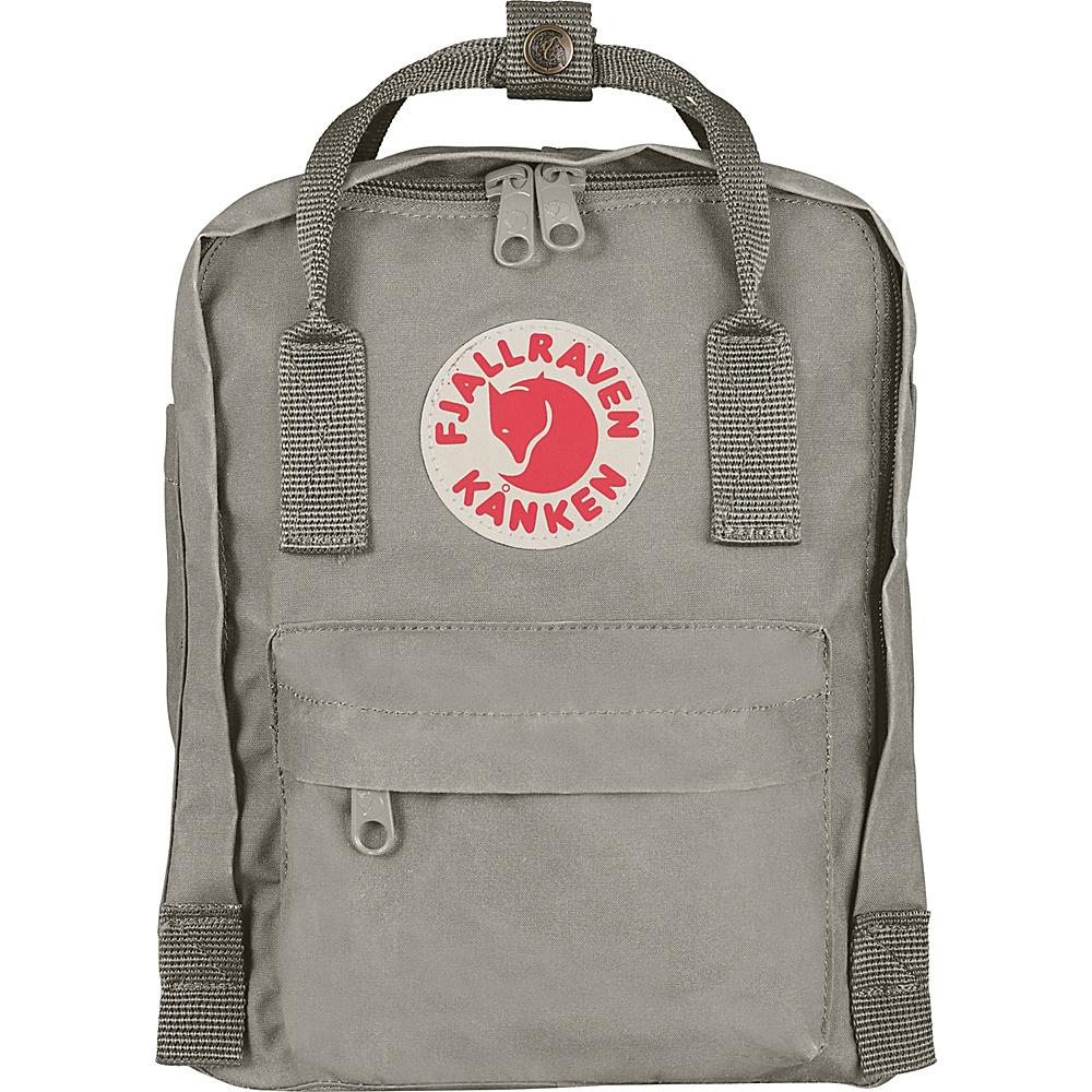 Fjallraven Kanken Mini Backpack Fog - Fjallraven Everyday Backpacks - Backpacks, Everyday Backpacks