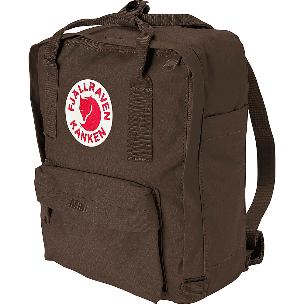 Fjallraven Kanken Mini Backpack Brown - Fjallraven Everyday Backpacks