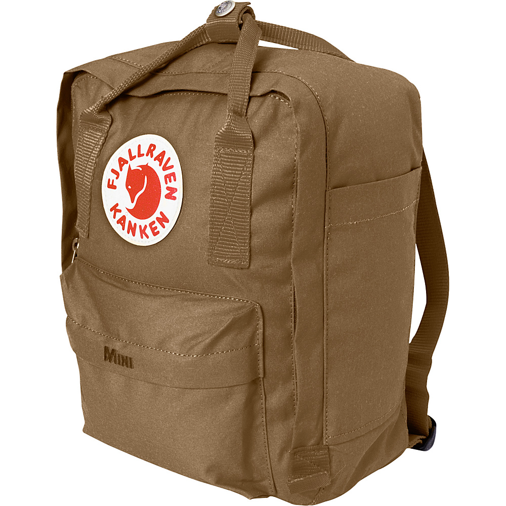 Fjallraven Kanken Mini Backpack Sand - Fjallraven Everyday Backpacks